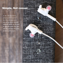 Wholesale Headphone Function - Remax RB-S5 S5 brand Sweat Resistance Wireless Bluetooth V4.1 Sport Stereo Headphones Headsets with MIC Answering Phone Function
