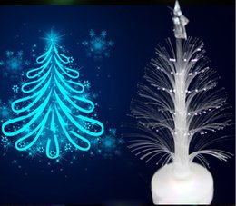 Wholesale Led Artificial Tree Wholesale - Christmas Trees Decorations Mini LED Ornaments Party Outdoor Artificial Colorful Lights Xmas for Sale Holiday Gift Fashion