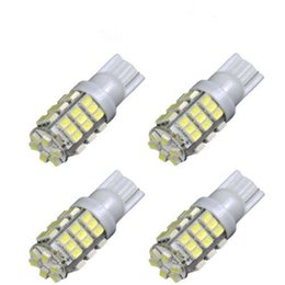 Wholesale 921 white led bulb - Led Bulbs 1206 42-SMD T10 12V LED Replacement Light Bulb + STICKER 921 912 906 White Durable LED SMD Bulbs Ultra Bright LED bulbs