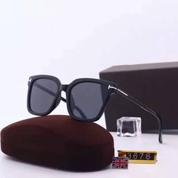 787f7d66e9dc0 2017 novos óculos de sol para homens tf3676 óculos de sol para as mulheres  sonhador óculos de sol marca designer de revestimento lente polarizada  estilo ...
