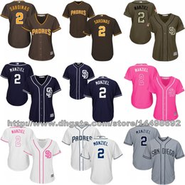 2017 johnny manziel jerseys Journée féminine de San Diego Padres Jerseys 2 Johnny Manziel Robe de soirée johnny manziel jerseys promotion