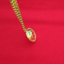 Wholesale Hip Hop Jesus Pendant - Fashion Leaf Jesus Medusa Pendant Necklace Gold Box Chain Hip Hop Jewelry for Men Fashion Jewelry Gift Drop shipping