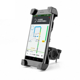 Wholesale Bicycle Phone Holders - Universal 360 Rotating Bicycle Bike Phone Holder Handlebar Clip Stand Mount Bracket For Smart Mobile Cellphone With Retail Package