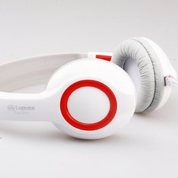 Wholesale White Chat - Computer headphones Internet LPS1513 cafes game voice chat headset headset fashion headset reduce the noise for PC and Phone