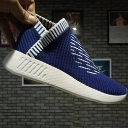 Wholesale Popular Cities - 2017 NMD City Sock 2 Casual Shoes Primeknit Shock Pink Pack mid-top Primeknit Sneaker For Men and Women Athletic Sneaker,Popular Casual Boos