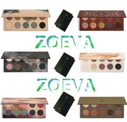 Wholesale Golden Long - Z.O.EVA Eyeshadow Glow Kit Palette Mixed Metals Cocoa Blend Rose Golden NATURALLY YOURS RODEO BELLE SMOKY Nake Eye Shadow