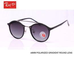 Wholesale Sun Logos - 2017 Round Polarized Sunglasses Men Luxury Sport Sunglasses Women Brand Designer Polaroid Vintage Sunglasses Retro Sun Glass with logo