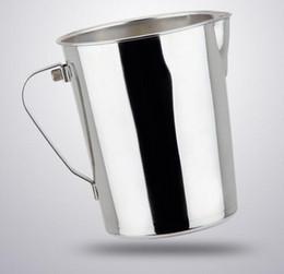 Lanciatore di latte in acciaio online-Hot Popolare Cucina Acciaio inossidabile Latte Brocca brocca Caffè espresso Brocca Barista Craft Caffè Latte Latte Brocca Brocca Brocca