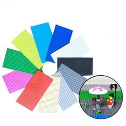 Pequenos blocos de construção diy baseplate single-sided 16 * 32 pontos de placa de base brinquedos blocos de construção diy brinquedo de placa de base kka2005 de