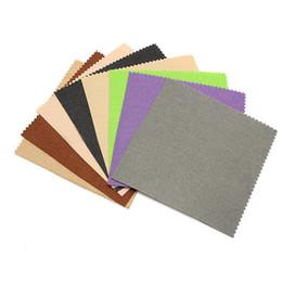 Wholesale Diy Polyester Felt - 41pcs Colorful Crafts Felt Fabric 1mm Thickness Felt Sheets Rainbow DIY Craft Polyester Wool Blend Fabric Kit