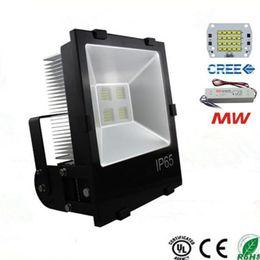 Wholesale warranty square - Cree XPE 30W 50W 70W 100W 120W 150W 200W Led Flood Light Outdoor LED Floodlights Lighting Lamp Warm White Cool White 5 Years Warranty CE UL