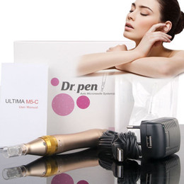 Wholesale Electric Wires - Newest ULTIMA M5 Derma Pen Wireless Wired Electric Microneedle Roller Dr.Pen With 5 speed of digital control