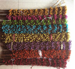 Wholesale Floral Stems - mix COLORS AVAILABLE PIP BERRY STEM FOR DIY WREATH GARLAND ACCESSORY,Floral Fillers