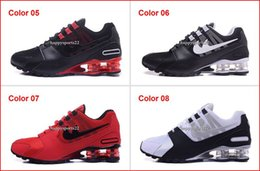 Wholesale Shoes Sport R4 - Drop Shipping Brand New Running Shoes For Men Discount Mens Shox Avenue NZ Sports Shoes Cheap Man R4 Trainers Air Sports Shoes