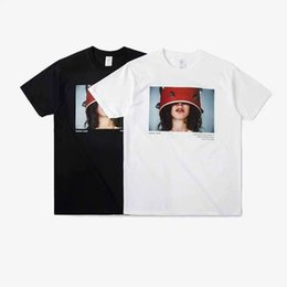 Wholesale Free People Summer - free shipping spring and summer of the new wave of ultra-fine characters direct injection photo People pattern printing Short Sleeve T-Shirt