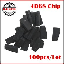 Wholesale Prado Key - 100pcs Lot DHL Free shipping 4D68 Carbon Transponder Chip For Lexus Toyota Prado car key chip