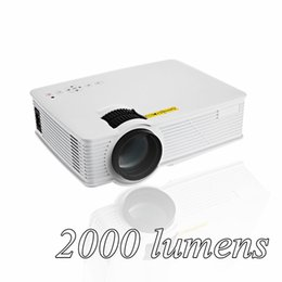 Wholesale Usb Pico Projector - Wholesale-GP 9 2000 lumens Mini Projetor Full HD 1080P Portable USB Cinema Home Theater Pico LCD Video LED Projector Beamer GP-9 Proyector