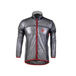 Wholesale Rain Jackets Sale - Hot Sale Cast Road MTB Bicycle Raincoat Lightweight Cycling Jacket Windproof Road Racing Bicycle Rain Coat 3 Colors S-3XL For Choice