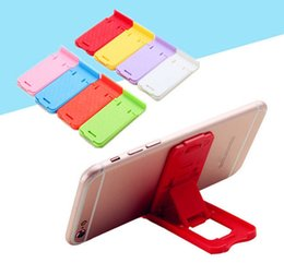 Wholesale Mobile Phone Accessories Display Stand - Folding Mobile Phone Holder Lazy Phone Holder stand Bed Display Phone Accessories for Iphone Tablet Samsung Galaxy