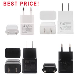 Wholesale S4 Home Charger - Best Price US EU Plug USB Home Travel Charger Adapter Wall Charger For Samsung Note 2 N7100 S3 S4 S5