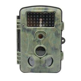 Wholesale Ir Game Cameras - Wholesale-12MP 1080P HD Game Trail Hunting Camera IP54 Waterproof Infrared Night Vision 42pcs IR LEDs Scouting Camera