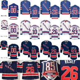 Wholesale Hockey Jerseys 22 - New york Rangers Jerseys 93 Mika Zibanejad 89 Pavel Buchnevich 76 Brady Skjei 22 Kevin Shattenkirk 10 J.T. Miller Hockey Jerseys