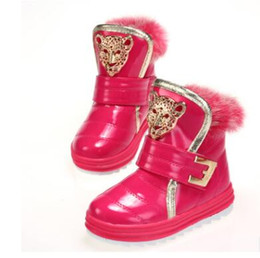 Wholesale Kids Fashion Boots - degree Russia winter warm baby shoes , fashion Waterproof children's shoes , girls boys boots perfect for kids accessories