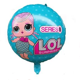 Wholesale Balloon Dolls - LOL Surprise dolls Balloon for Christmas Halloween Party decorations 18 inches C3019