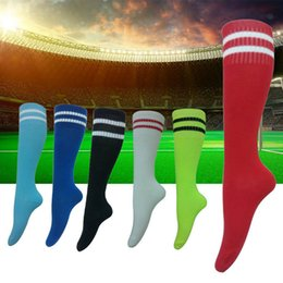 Wholesale Boys Jogging Bottoms - 7-12 years old Football Stockings Towel Bottom Socks Soccer Long Leg Warmers absorbent sweat non-slip movement Kids Boys Soccer Sock