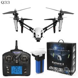 Wholesale Real Roll - Wholesale- WLtoys Q333- B Fixed-height Mode One Press Automatic Return Aircraft Roll Function WiFi Real-time Transmission RC Quadcopter