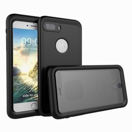 Wholesale Iphone Proof Protective Case - 2017 new For Apple iPhone 7 7 Plus Waterproof Phone Case IP68 10m Deep Water Dirty Shock Proof Cover Full Body 360 Degree Protective Capa