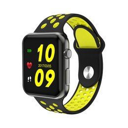 Wholesale Huawei Smart Phones - Bluetooth Smart Watch Connected IWO 4 MTK2502C 42mm Sport Smartwatch for Apple iOS iPhone 5 5s 6 6s 7 8 Xiaomi Huawei 2 Sony 3 Android Phone