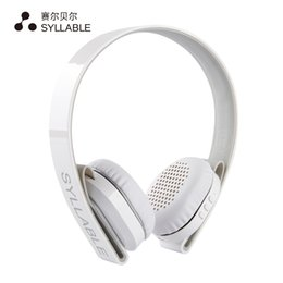 Wholesale Fly Mp3 - ass fly fishing flies SYLLABLE G600 Wireless Bluetooth Earphone Noise Canceling Headphone Headset Deep Bass with Microphone 40mm Speaker ...