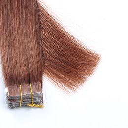 Highlighted weft hair extensions bulk prices affordable resika 16 50 100g lot tape in brazilian human hair extension straight highlight color pu skin weft hair weave hair weft 10 colors in bulk price pmusecretfo Gallery