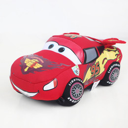 """Wholesale Mcqueen Toys - Hot Sale 6.2"""" 16cm Movie Cars Pixar Plush Cars Lightning McQueen Stuffed Toy For Child Gifts"""