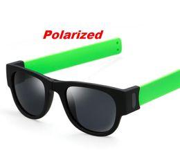 Wholesale Sunnies Glasses - Wholesale-N49 Polarized SlapSee Sunnies Sunglasses Women Men Hot Sales Fashion 2016 Sun Glasses Women Men Outdoor Cool Fold Shades Oculos