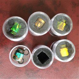 Wholesale Wholesale Epoxy - 2017 Epoxy Resin drip tip Colorful Wide Bore tfv8 drip tips 810 Mouthpiece for Tfv8 Big Baby Tfv12 Tank with Retail Package