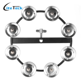 Wholesale Musical Bells Ringing - Wholesale-Kids Toys Tambourine Metal Jingle Bell Ring Tambourine Percussion Instruments Early Educational Musical Toys for Kids Children