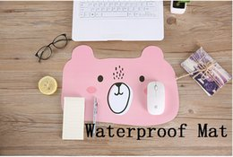 Wholesale Plastic Mouse Mat - Latest Cute multi-color print anti-skid customized mouse pad computer PC Nice game Mouse mat Waterproof Table mats as a gift