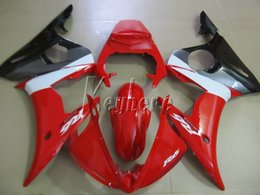 r6 yamaha part UK - Top selling moto parts fairing kit for YAMAHA R6 2003 2004 2005 red black fairings set YZF R6 03 04 05 IY16