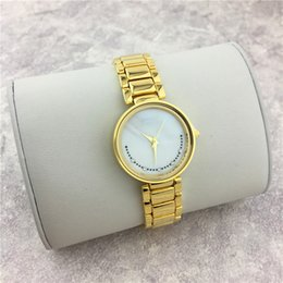 Wholesale Golden Chain Watches - Fashion Women watches Smile Dial Face Golden Color Belt Luxury High Quality Lady Quartz Female Clock Free shipping Steel Bracelet Chain Sexy