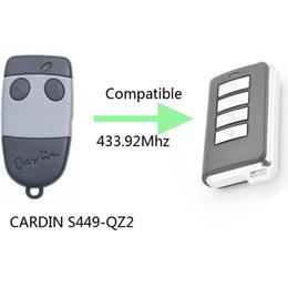 Wholesale Garage Door Transmitters - Wholesale- compatible CARDIN S449 Garage Door repalcement Remote Transmitter Key Fob