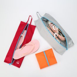 Wholesale Boys Korean Shoes - Travel Shoes bag Sports Storage Bags Dustproof Shoe Bag Simple Travel Item Creative Set Travel Storage bag Waterproof