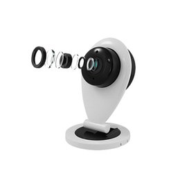 Wholesale Mobile Vision Camera - Wholesale-Mini Wifi IP Camera Wireless 720P HD Smart Camera P2P Monitor Security Camera Home Protection Mobile Remote With Night Vision