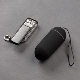 Wholesale Wireless Mini Vibrators - Waterproof Remote Control Vibrator Bullet Egg Wireless Vibrating Jump Egg G-spot Clitoris Stimulator Mini Vibrators Sex Toys