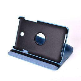 """Wholesale Solid Hd - Wholesale-Top Quality 360 Degree Rotating Leather Stand Case Cover For Asus Memo Pad HD 7"""" ME173X ME173"""