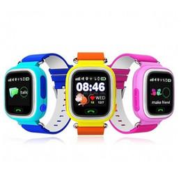 Wholesale purple finder - GPS Touch Screen WIFI Smart Watch Child Location Finder Device Tracker Kid Safe Anti Lost Monitor Smartwatch