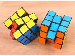 Wholesale Square Games - MOQ 360pcs Rubics Cube Rubix Cube Magic Cube Rubic Square Mind Game Puzzle for Kids (Color: Multicolor) 5.3x5.3x5.3 cm