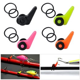 Wholesale Small Plastic Gears - Plastic Fishing Rod Pole Hook Keeper For Lures Bait Spoon Treble Holder Small Shackle Rock Rafting Fishing Tackle Accessaries
