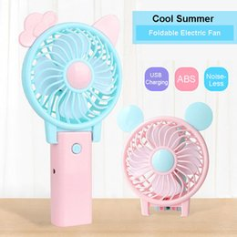 Wholesale Net Tables - Foldable Portable Desk Desktop Table Cooling Fan with USB Rechargeable Battery Operated Electric Fan for Office Outdoor Household Travel.